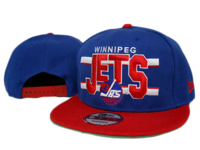 Winnipeg Jets NHL Snapback Hat ZY06